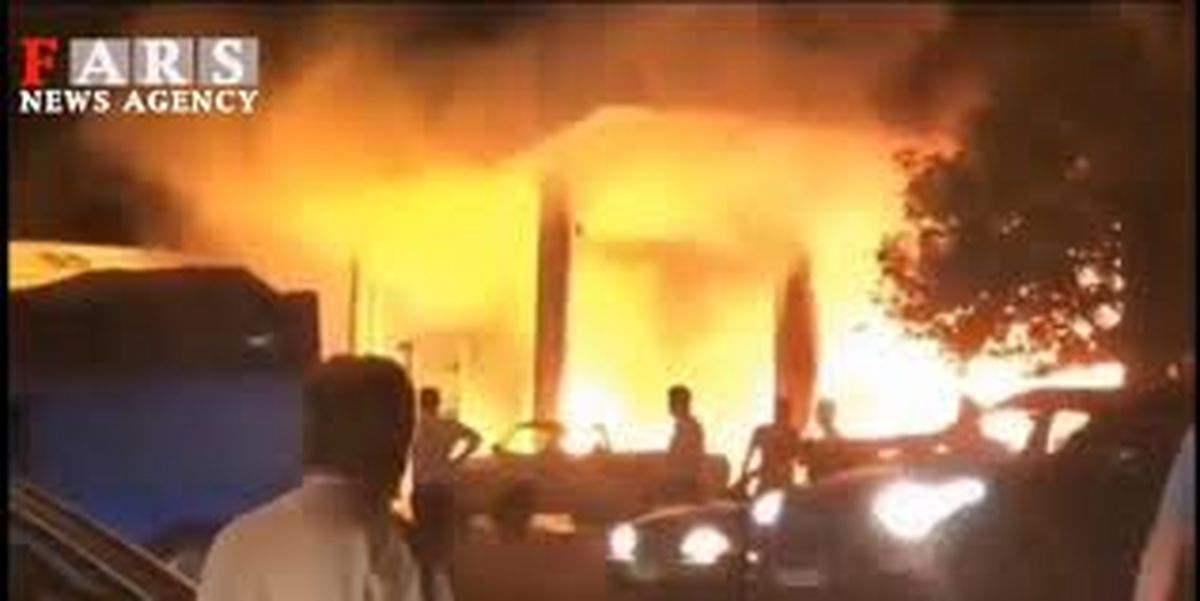 فوری / انفجار پمپ بنزین در تهران