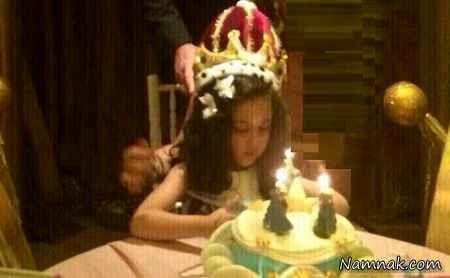 جشن تولد دختر علی دایی