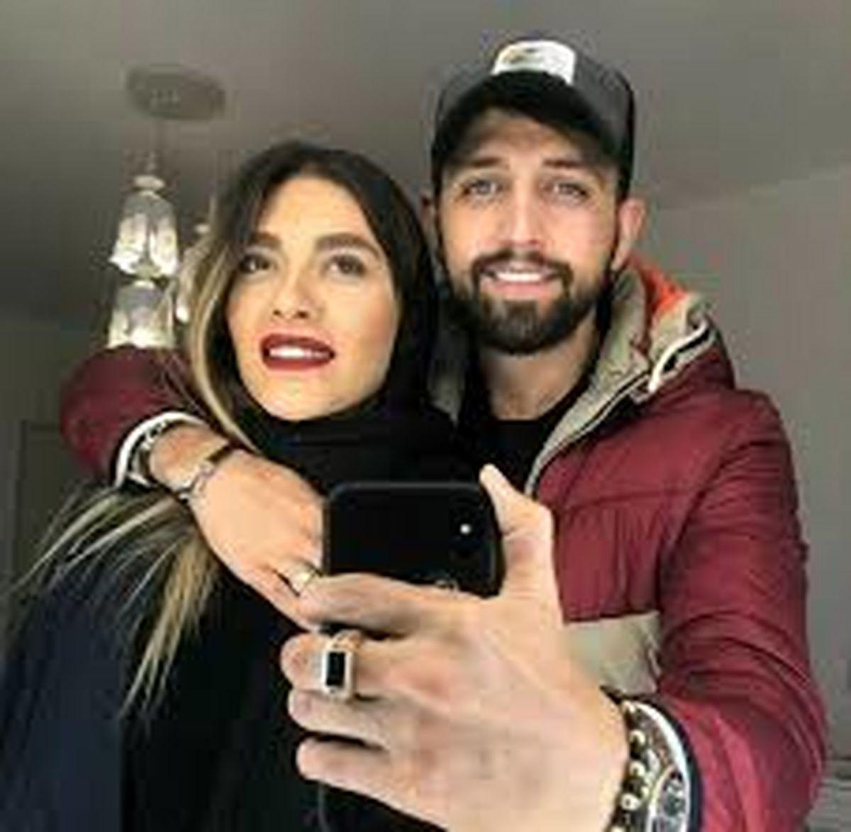 محسن افشانی ویدیوی رقص همسرش را منتشر کرد + فیلم دیده نشده