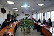 جلسه معاونت فنی و بهره برداری مجتمع سنگ آهن سنگان با مجموعه مدیریت معادن و پرسنل واحد معدن
