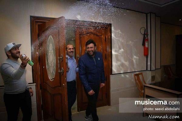 جشن تولد محمد علیزاده
