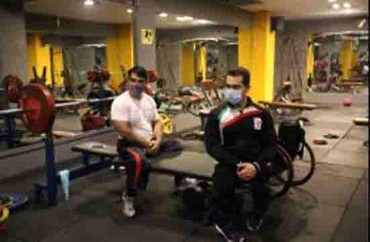 تغییر مکان اردوی وزنهبرداران پارالمپیکی از کیش به تهران