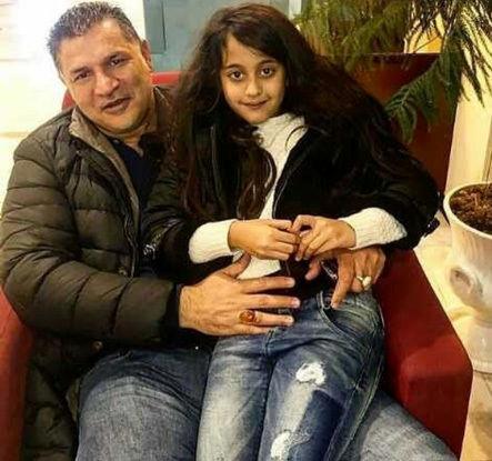 علی دایی و همسرش + عکس