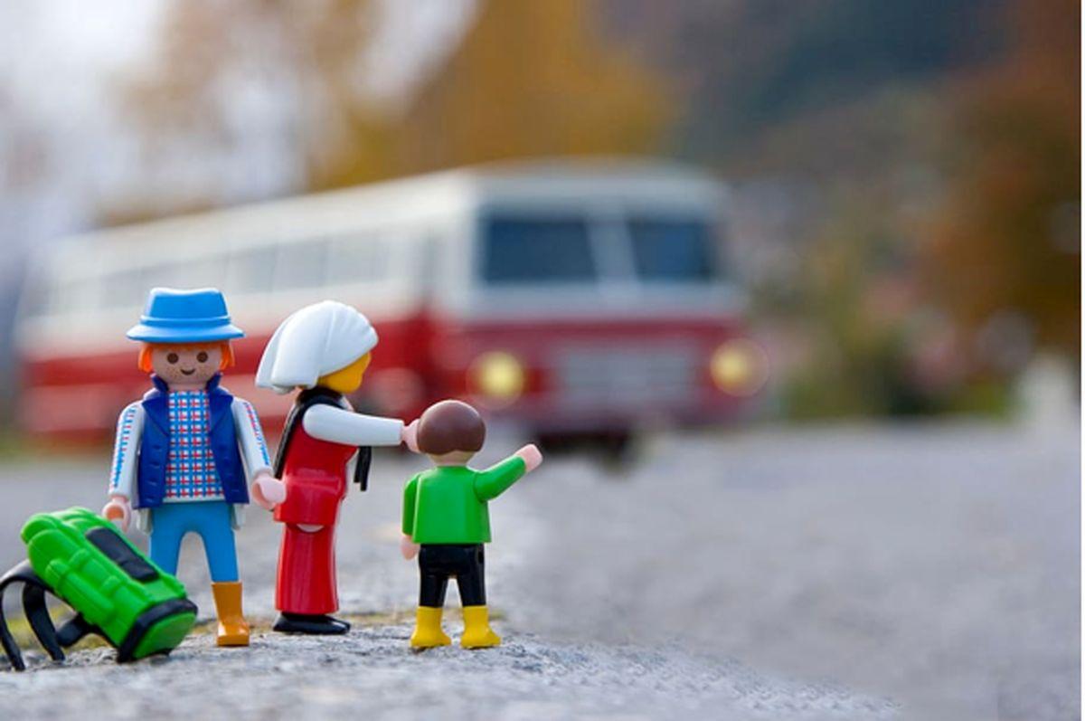 راهنمای سفر با کودکان با اتوبوس
