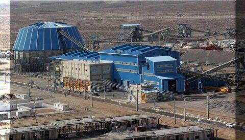 عبور تولید کنسانتره آهن شرکت های بزرگ از مرز ۴۶ میلیون تن