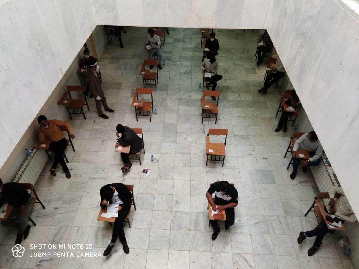 آزمون استخدامی پتروشیمی اوره لردگان امروز در حال برگزاری است