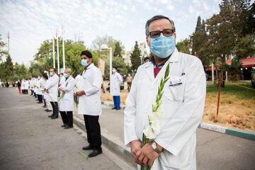 روز پزشک و تکریم مدافعان سلامت در کیش