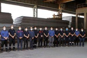 گزارش عملکرد ۵ ماهه واحد سفارشات و انبارها شرکت فولاد اکسین