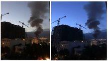 انفجار مهیب کلینیک در شمال تهران + فیلم دیده نشده